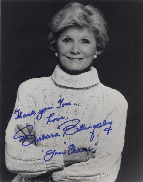 Barbara Billingsley Autograph