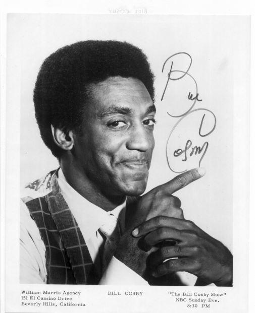 Bill Cosby Autograph
