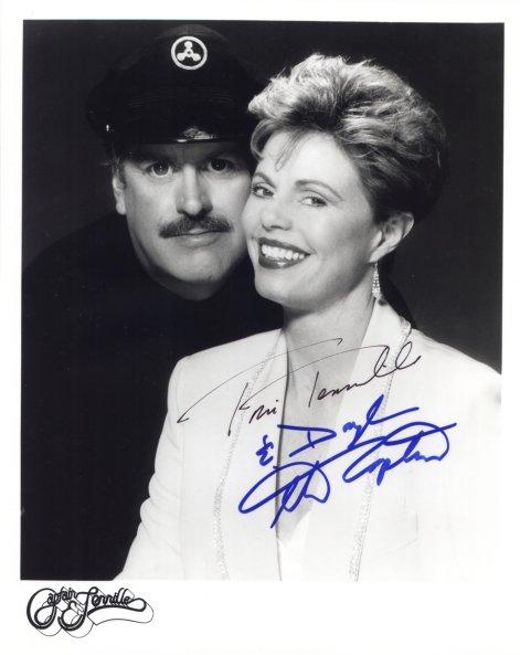 Captain and Tennille Autograph