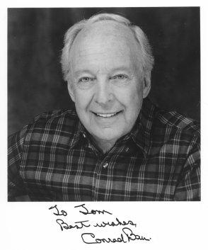 Conrad Bain Autograph