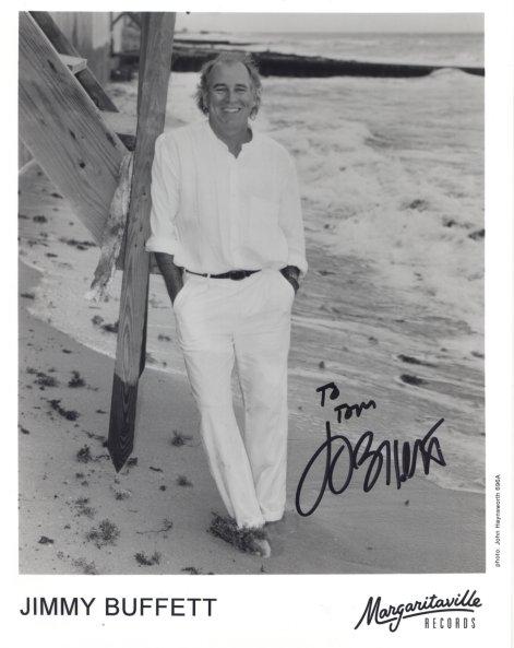 Jimmy Buffett Autograph