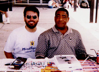 Getting An Autograph From Tommie Agee of The 1969 Mets