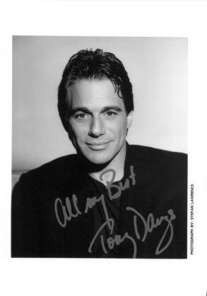 Tony Danza Autograph