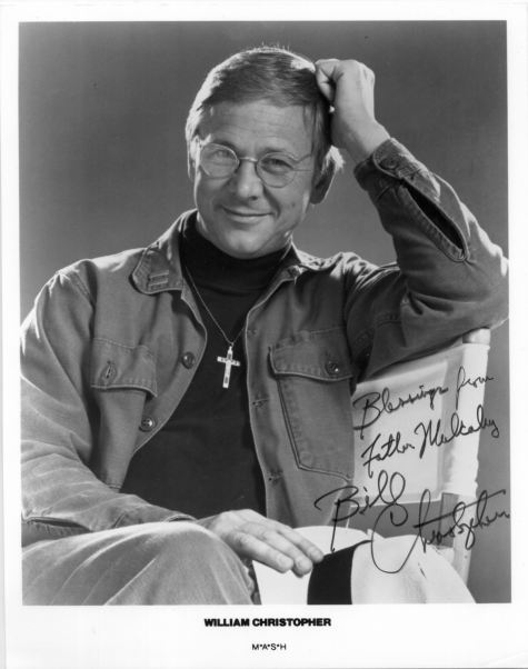 William Christopher Autograph